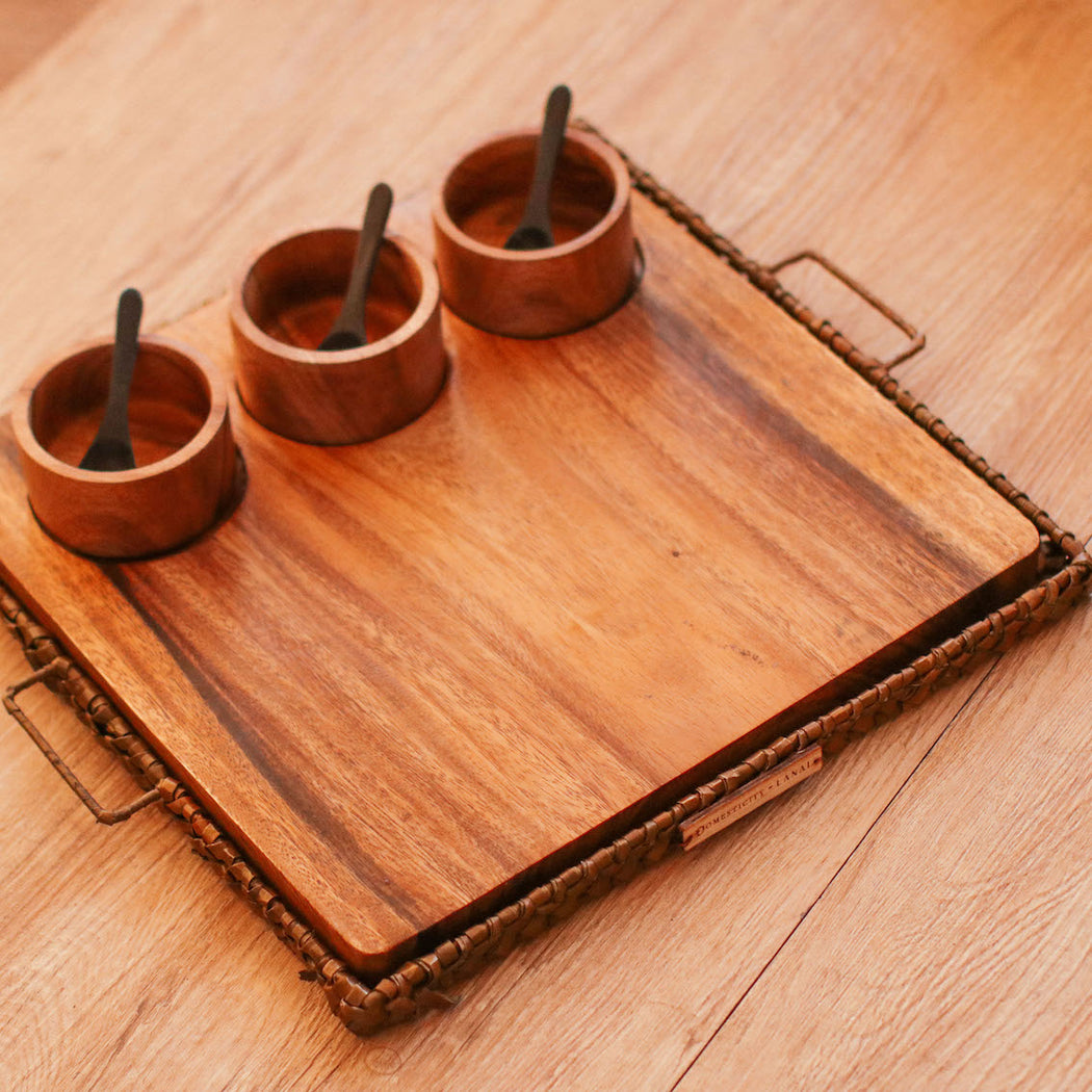 Lila Appetizer Serving Set  (Domesticity x Lanai)