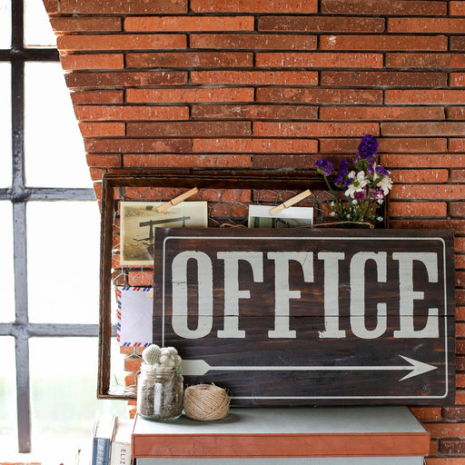 Office Wooden Signage