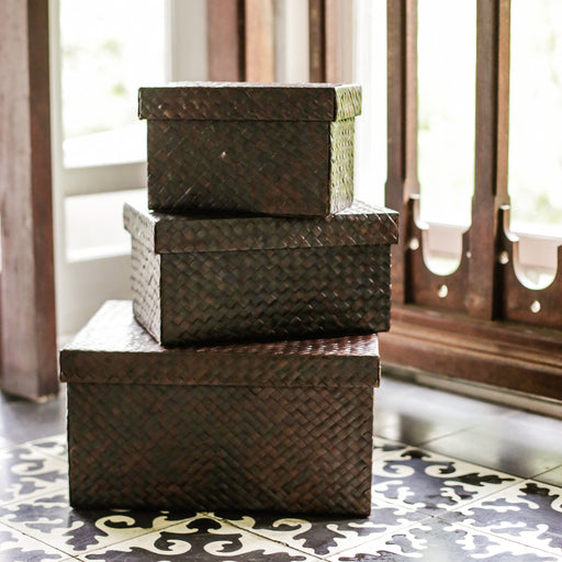 Plain Pandan Storage Box