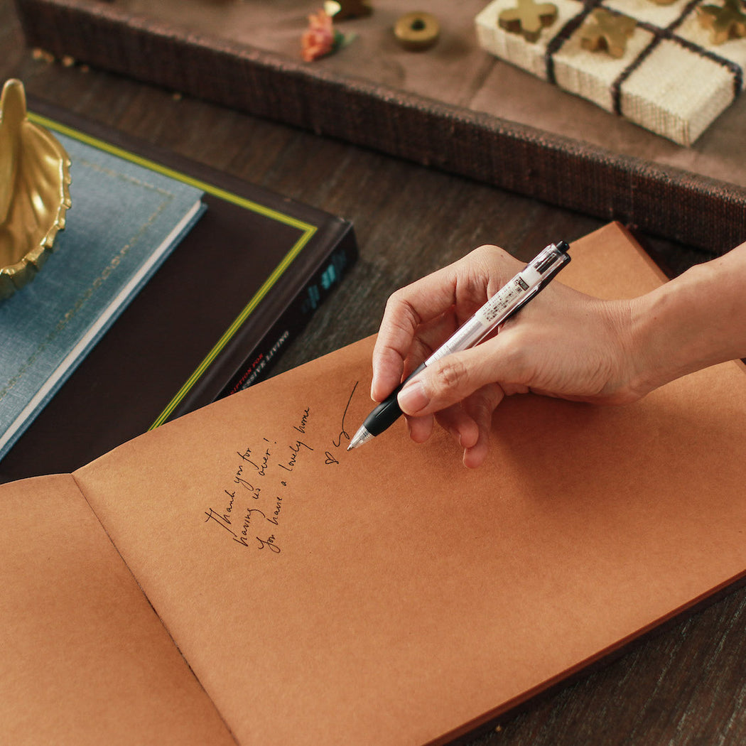 Roselin Suede Guest Book