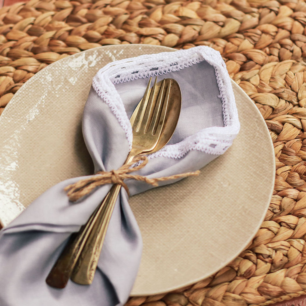 Marisol Linen Table Napkins Set of 4