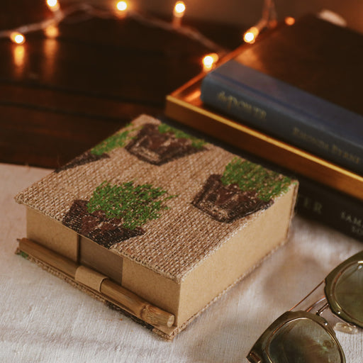 Provence Noteblock with Bamboo Pen