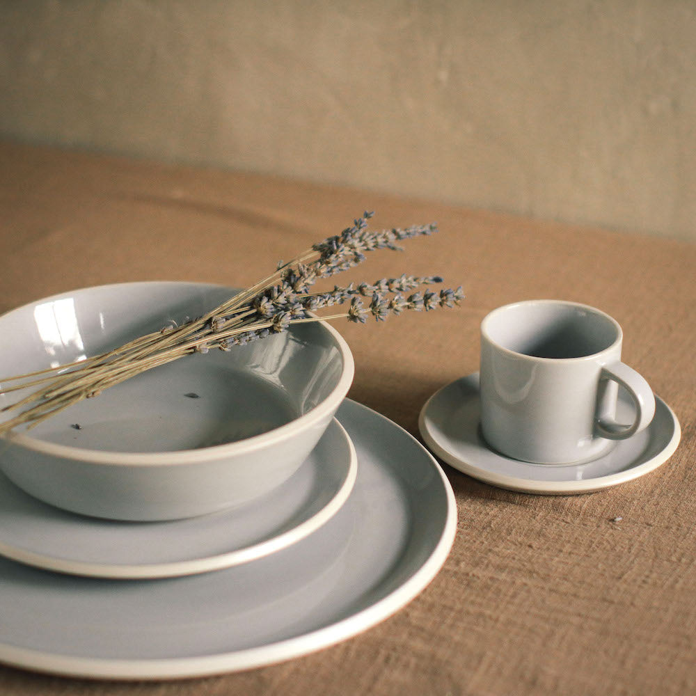 A timeless design dinnerware set that serves the perfect backdrop for all your favorite recipes. Available in the Philippines through Domesticity.