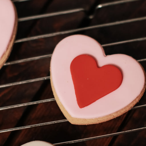 Valentine Butter Cookies ( Set of 6 )