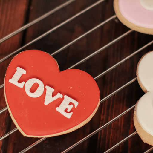 LOVE Butter Cookies ( Set of 6 )