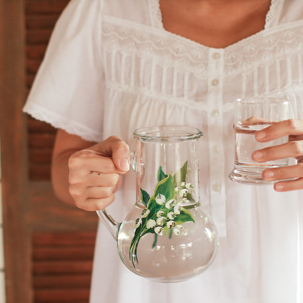 Lily of the Valley Bedside Carafe
