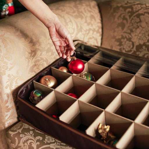 Our ornament storage box keeps your Christmas decor safe and organized season after season. Available in the Philippines.