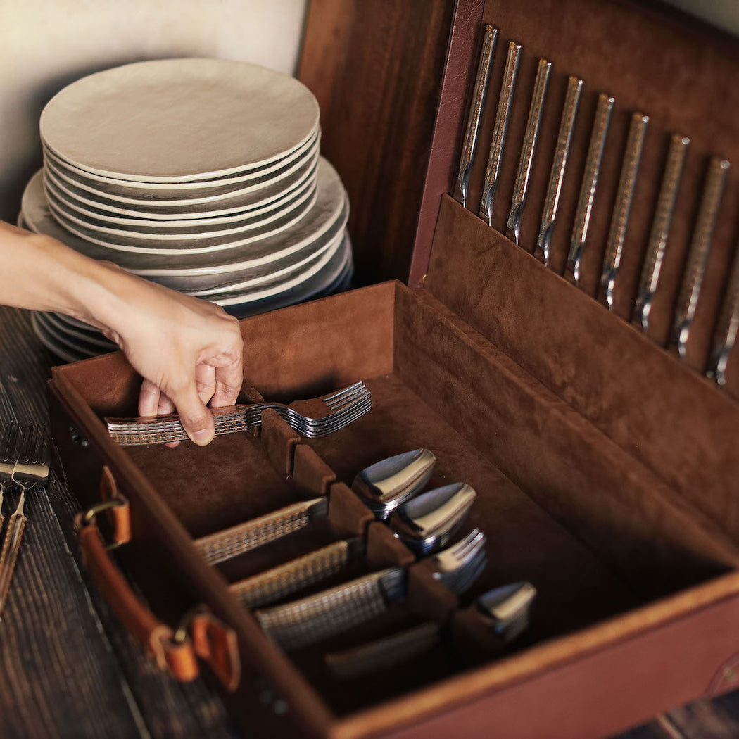 Matteo Flatware Storage Chest