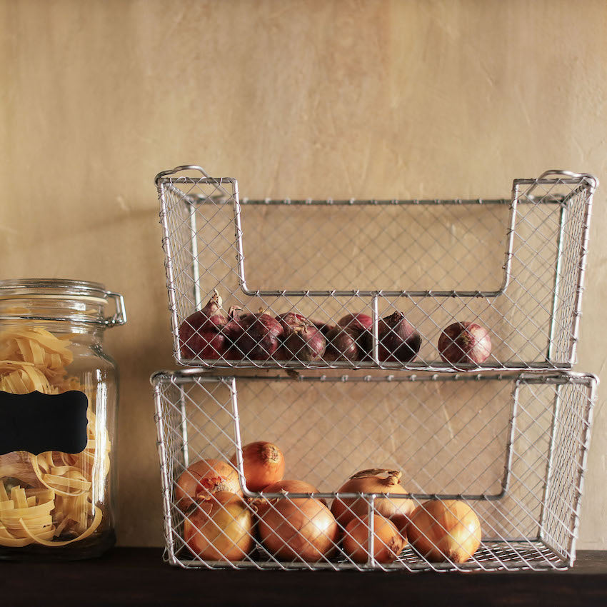 Domesticity's storage bins, baskets and organizer for your kitchen available in the Philippines/