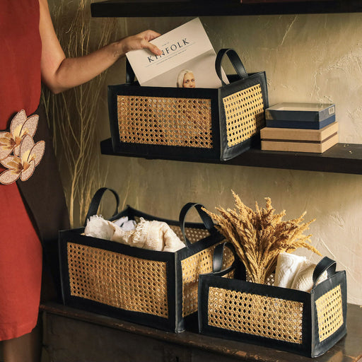 Explore Domesticity's wide range of storage bins, storage organizers, storage baskets, and document storage boxes. Beautifully handcrafted in the Philippines.
