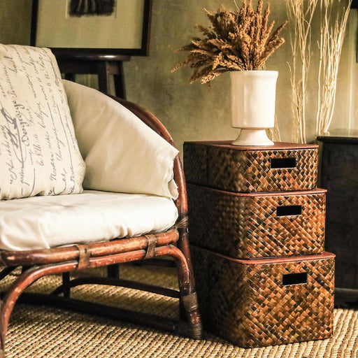 Basket storage bins, home accessories and home decor lovingly made in the Philippines.
