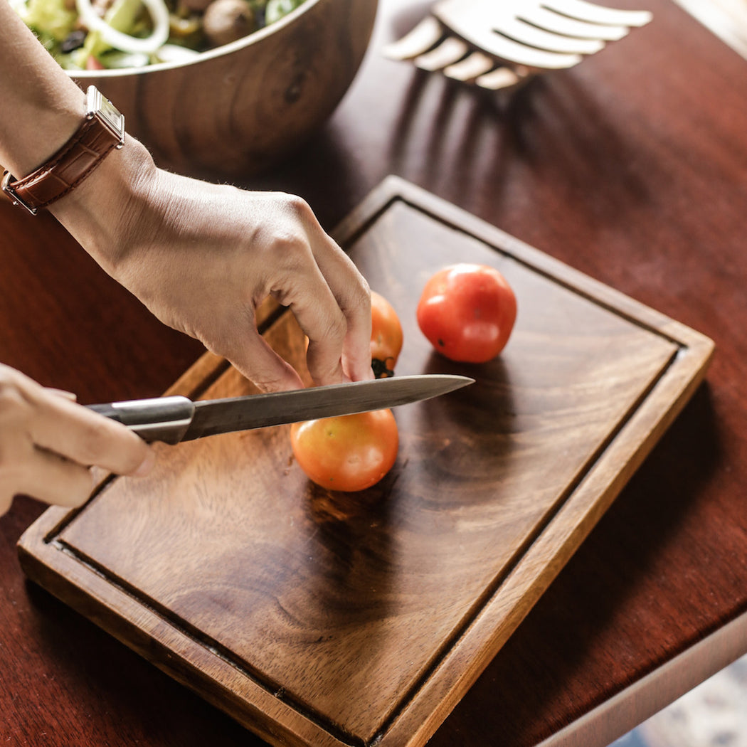 Harvest Time Wooden Chopping Board