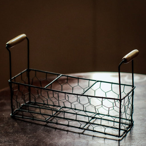 Sample Sale - Chicken Wire Caddy