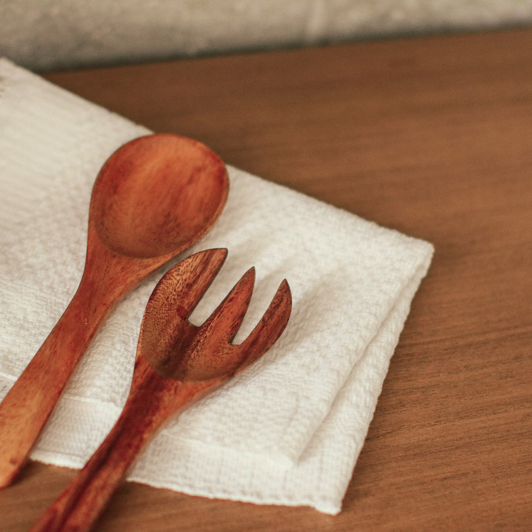 Toulon Serving Spoon & Fork
