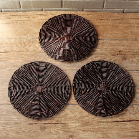 Corinne Wicker Plate Charger
