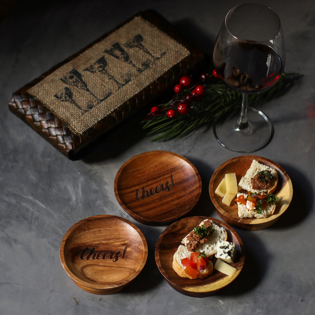 Mini Tapas Plate Gift Set