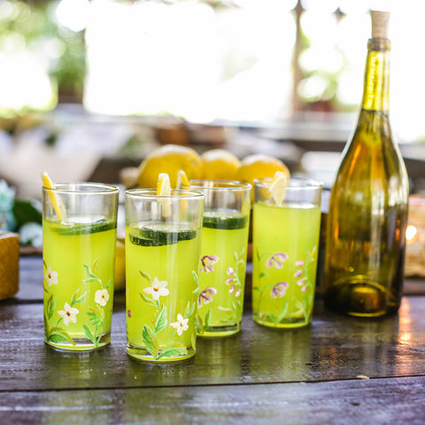 Amaya Drinking Glass Set of 4