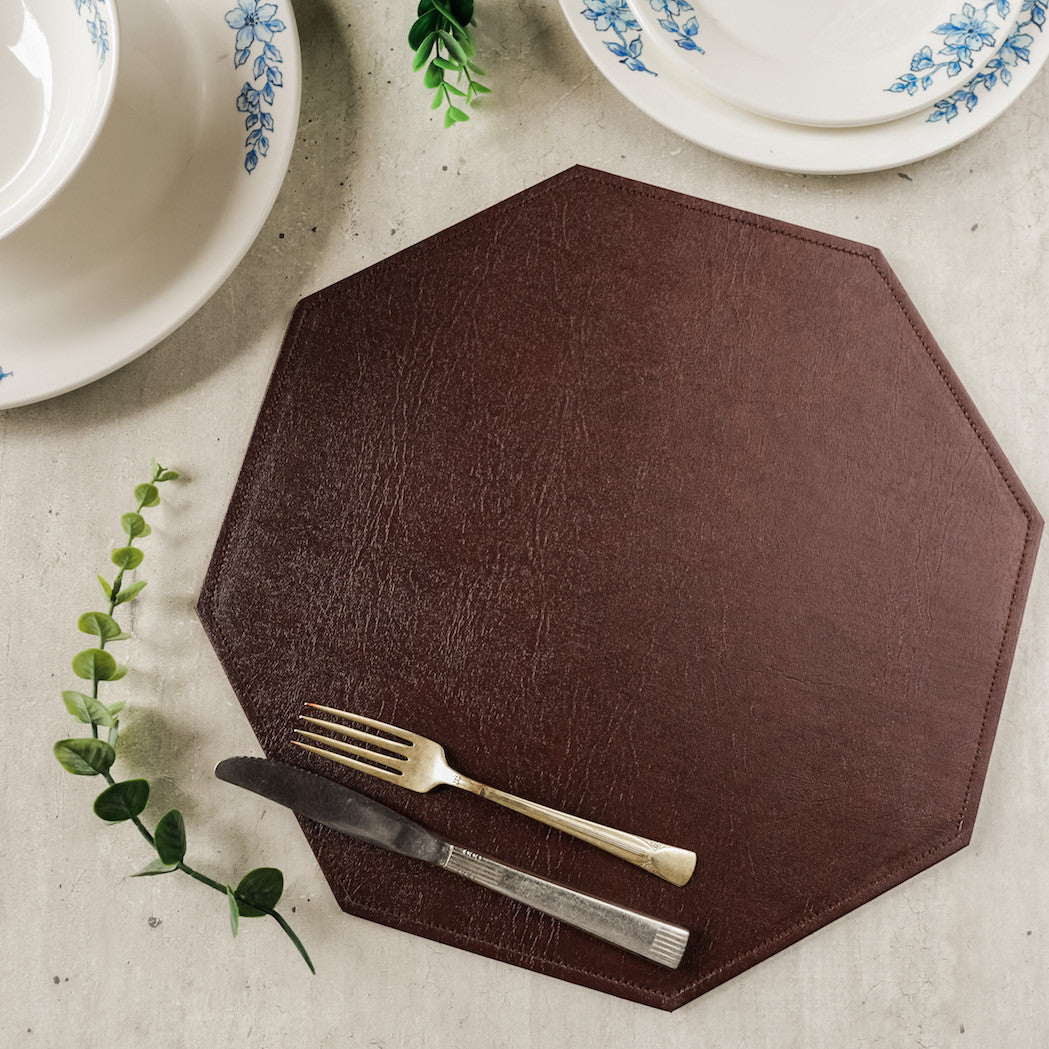 Abelino Leather Placemat