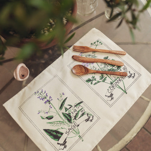 Margeaux Herb Placemats Set of 4