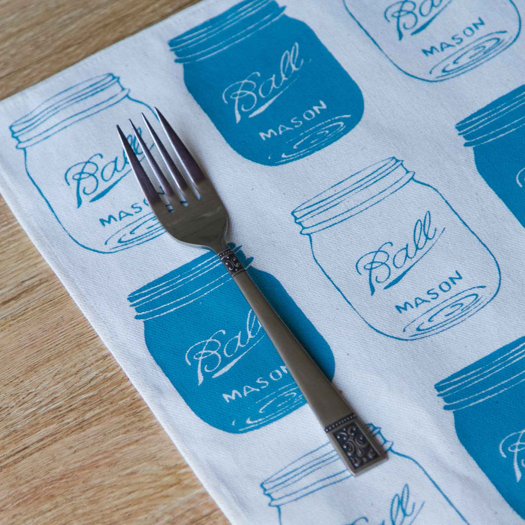 Mason Jar  Placemat Set