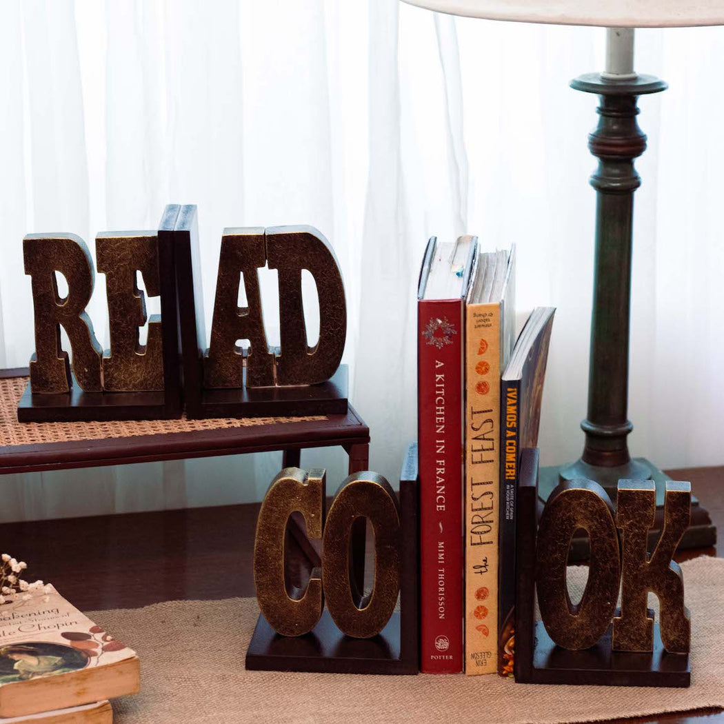 These letter bookends are a playful way to add personality to your bookcase. Place on your office or library shelves, each set keeps your collection of books sorted and organized. Lovingly made in the Philippines through Domesticity online. Home decor pieces available online through Domesticity in the Philippines.