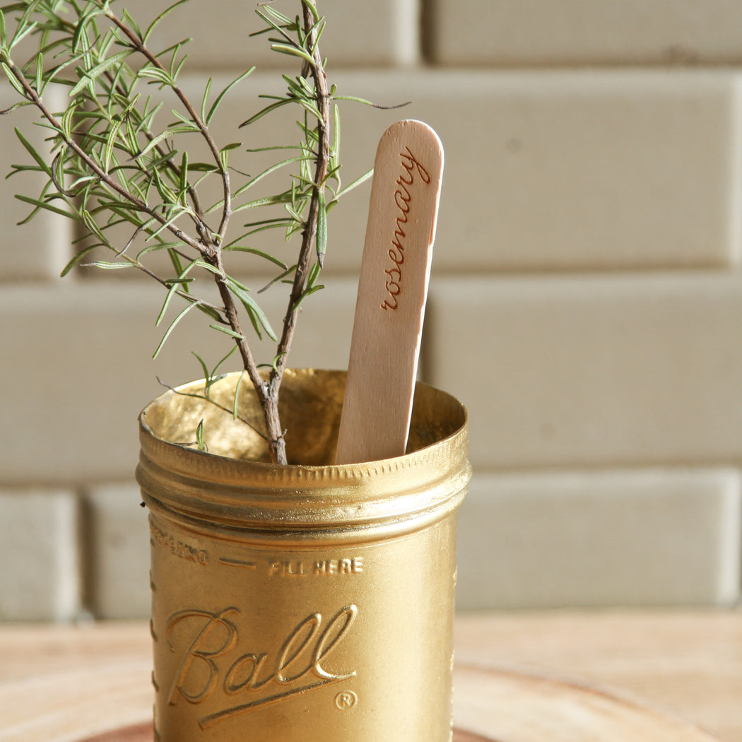 Lavina Herb Markers