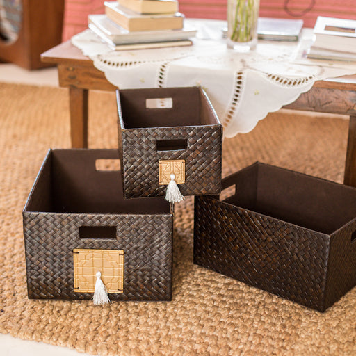 Chinoiserie Utility Basket