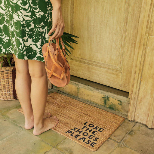"'Lose the Shoes Please"" Doormat"