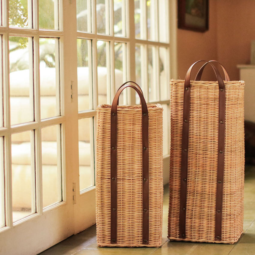 Estelle Wicker Umbrella Stand