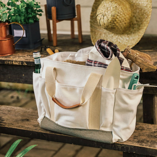 The Cassia Canvas Gardening Bag ( Domesticity X Hindy Weber )