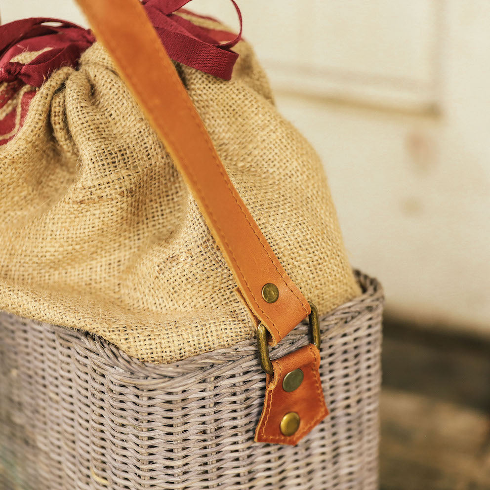 Margueritte Wicker Bag   ( Domesticity x Hindy Weber )