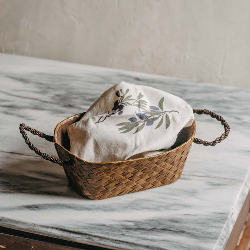Sample Sale - Olivie Bread Basket Small