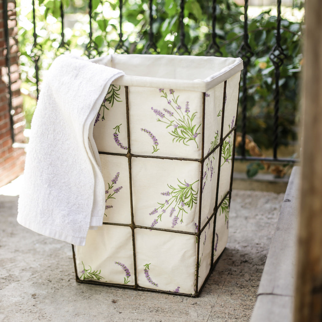 Field of Lavender Laundry Hamper