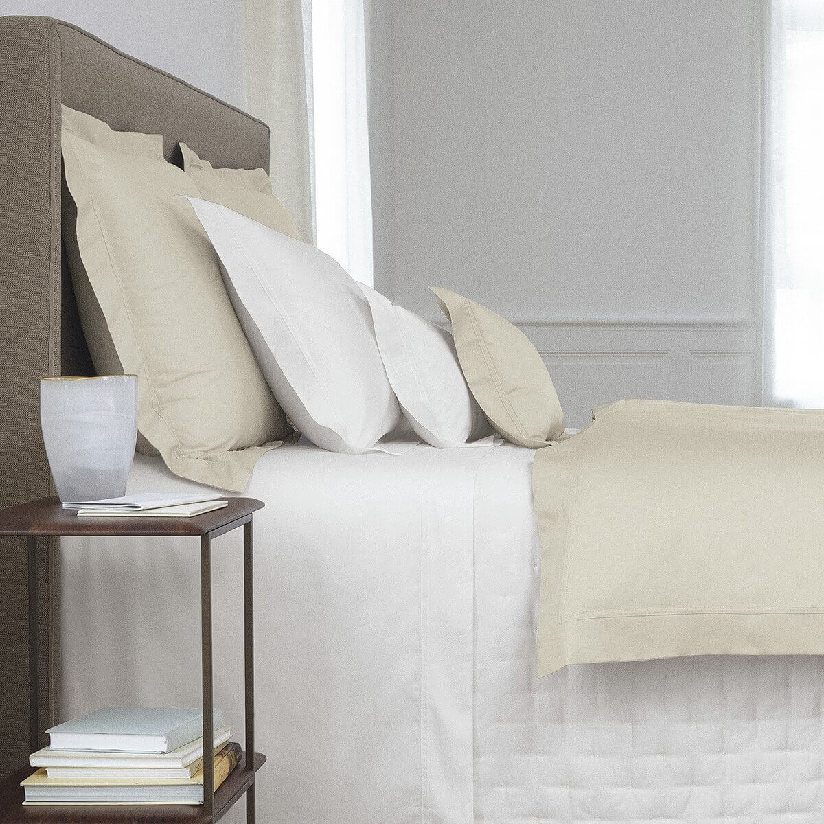 Yves Delorme Triomphe Quilted Coverlet And Quilted Sham The Dolphin Fine Linens