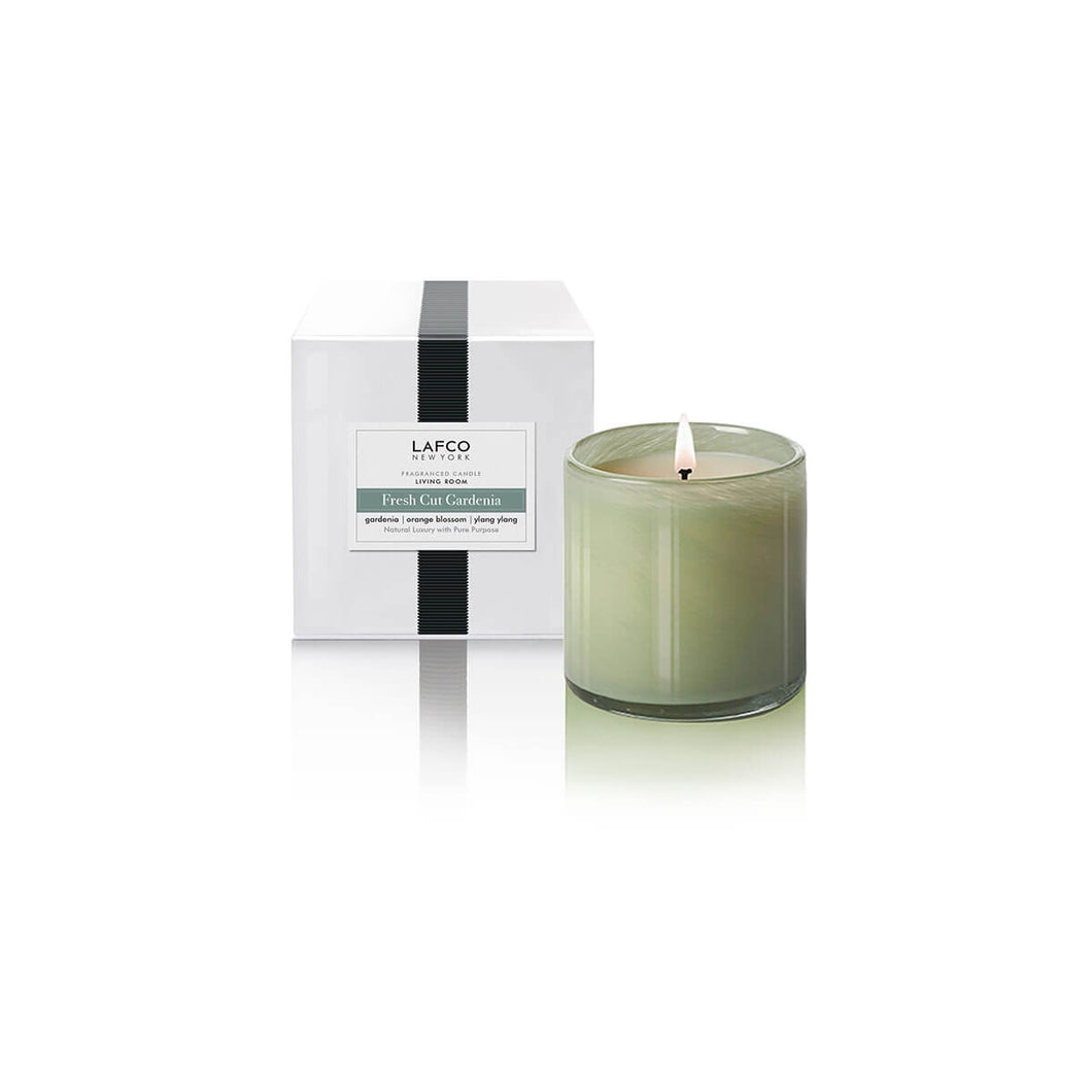 LAFCO Fresh Cut Gardenia Signature Candle