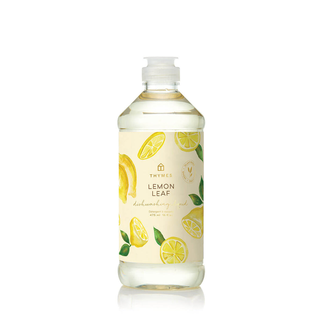 Lemon Leaf Dishwashing Liquid, 16.0 fl oz