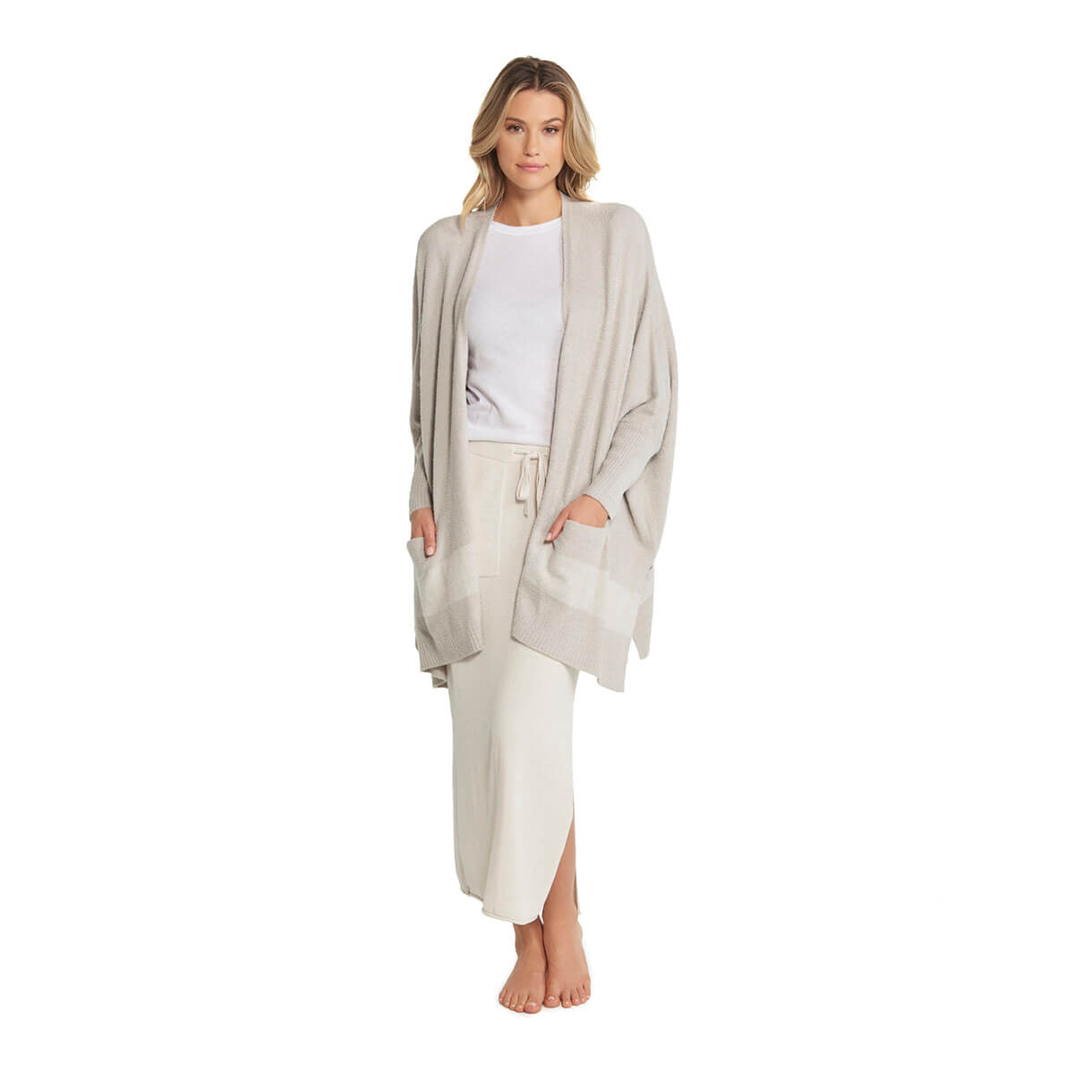 Barefoot Dreams CozyChic Lite Cliffside Wrap