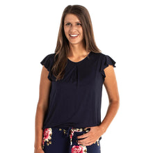 Load image into Gallery viewer, JuJu Jams Mollie Ruffle Sleeve Top