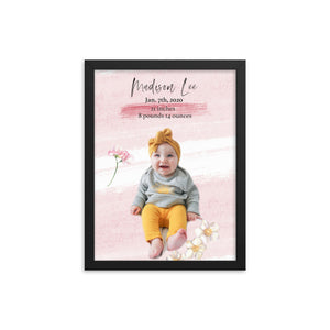 Mother's Day Baby snuggles ~light pink~