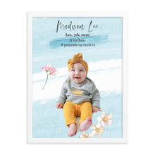 Load image into Gallery viewer, Mother's Day Baby snuggles ~light blue~