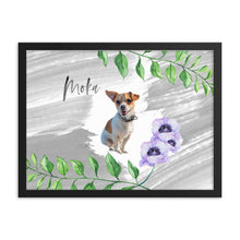 Load image into Gallery viewer, Pet's Tropical Paradise ~light gray brush~