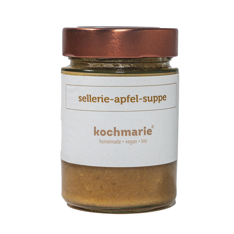 Sellerie-Apfel Suppe - MATHY GmbH