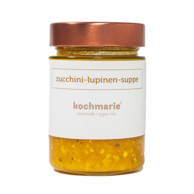 Zucchini-Lupinen-Suppe - MATHY GmbH