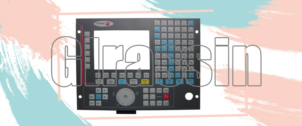 Membrane Keyboard for Fagor CNC 8035 Repair Replacement