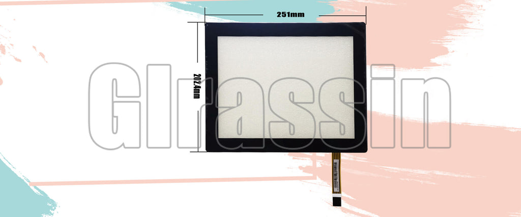 10.4 INCH Original Touch Screen for AMT2539 91-2539-F00