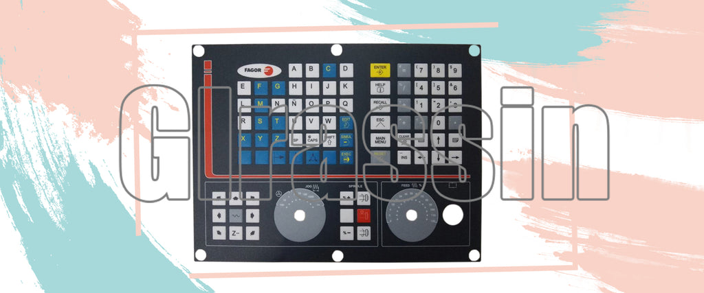 Membrane Keyboard for Fagor CNC-8040-M-COL-K Replacement