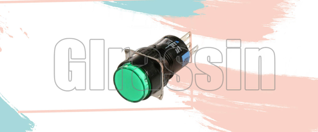 Green LED Start Button for Yaskawa DX100 Teach Pendant Replacement