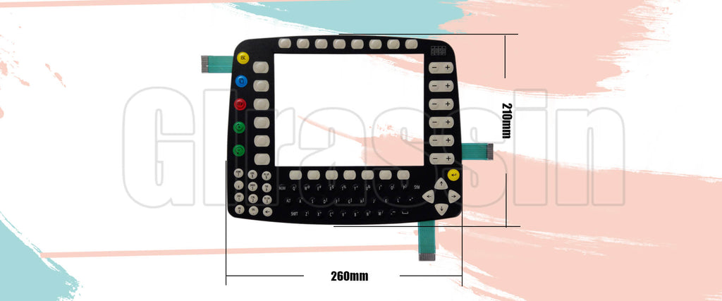 Membrane Keyboard for KUKA KCP1 69-000-399 Teach Pendant