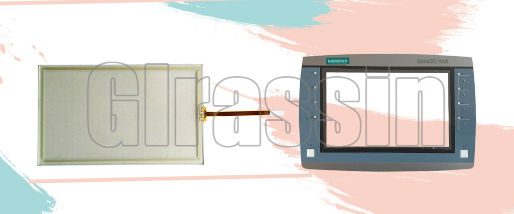 Touch Screen and Keyborad for Siemens SIMATIC KTP700F Mobile Repair Replacement