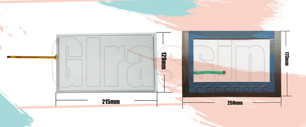 Touch Screen and Keypad for Siemens SIMATIC KTP900 Basic